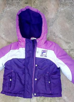 Зимняя куртка 3-4 года