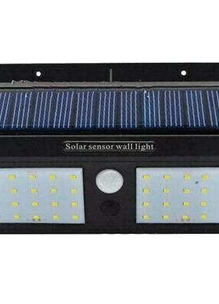 Светодиодный навесной фонарь, на солнечной батарее с датчиком дв.