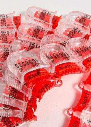 Пластиковая номерная пломба «Фора», «PX-3» под проволоку