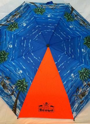 Механический складной зонт Scout Германия