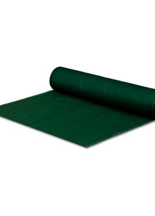 Сетка затеняющая UA - 95% 3 х 45 м (120 г/м²) темно-зелёная.
