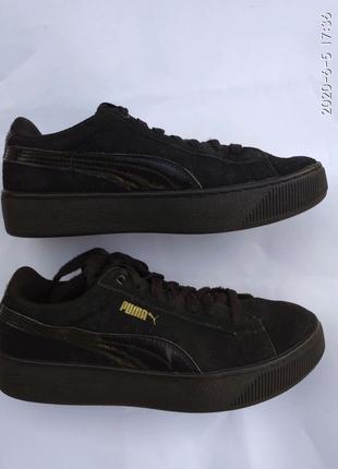 Кроссовки PUMA original замшевые , размер 37.5