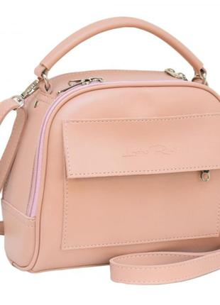 Женская сумка lucherino цвет - пудра
