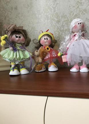 Куклы интерьерные ручной работы