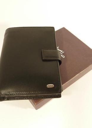 Портмоне, документница мужская кожаная petek 1735 паспорт, пра...