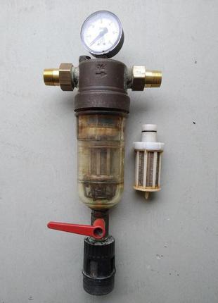 Фільтр для води Honeywell F76 3/4 на запчастини.