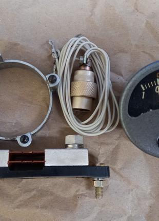 ВА-440 вольтамперметр + ША-440 шунт + кольцо + штепсель