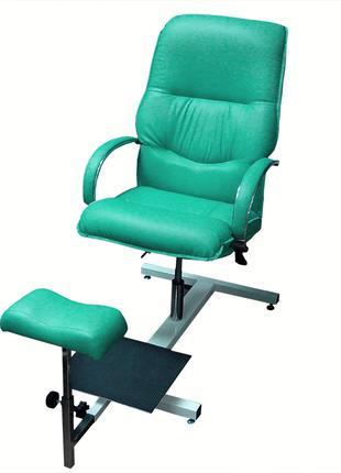 """Кресло педикюрное Opus Studio """"Версаль"""" на стелаже"""