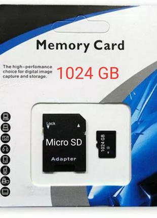 Micro SD XC Карта Памяти 1024 Гб (1 Терабайт)