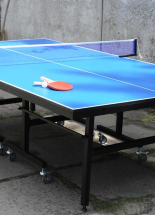Профессиональный теннисный стол «феникс» master sport, стол для т