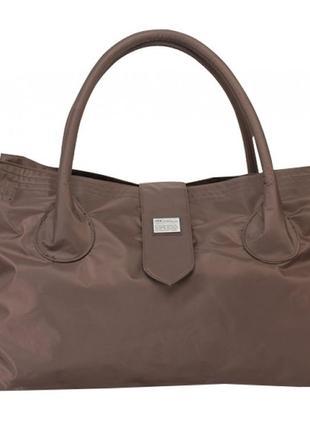 Дорожная сумка, саквояж epol 2360 средняя м коричневая, 51*27*...