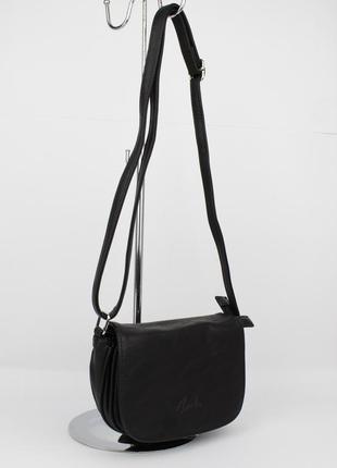 Маленькая сумочка через плечо amelie galanti 25578 черная