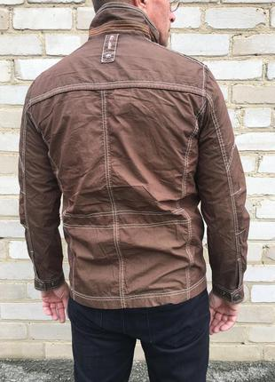 Куртка ветровка мужская коричневая redpoint стеганная