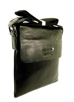 Сумка мужская через плечо, планшет 110301-c, 22*20*4 см