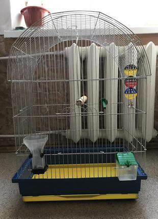 Клетка для попугаев (волнистых или коррел)