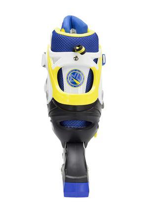 Роликовые коньки Nils Extreme желтые Size 39-42