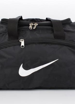 Стильная спортивная, дорожная сумка  1323 черная