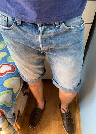 Мужские джинсовые шорты 31 размер