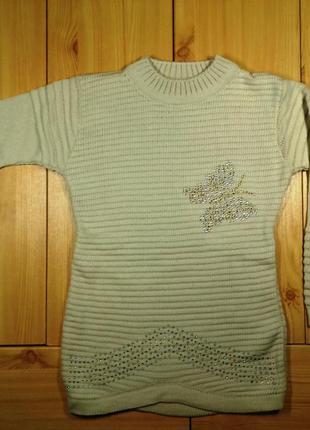 Детский свитер для девочки рр. 116-146 beebaby (бибеби)