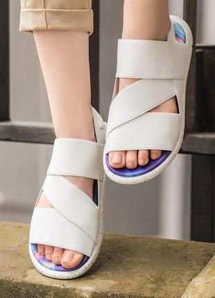 👟 босоножки женские adidas sandal y-3 yohji yamamoto / наложен...