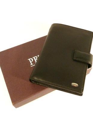 Кошелек мужской, портмоне petek 1718 документы, натуральная ко...