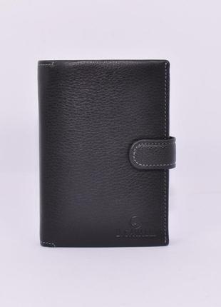 Портмоне, кошелек мужской кожаный  445, документница