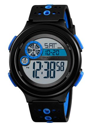 Оригинальные мужские наручные часы Skmei 1374 Blue