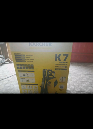 Продам минимойку Karher k7 premium full control