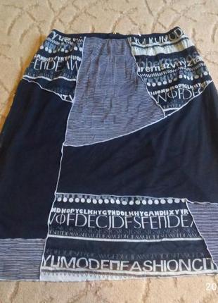 Юбка сетка на подкладке celaia