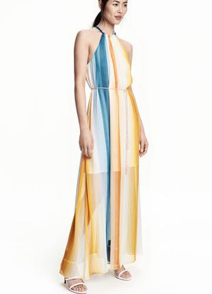 Шифоновое платье от бренда H&M