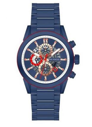 Оригинальные мужские наручные часы Mini Focus MF0285G All Blue