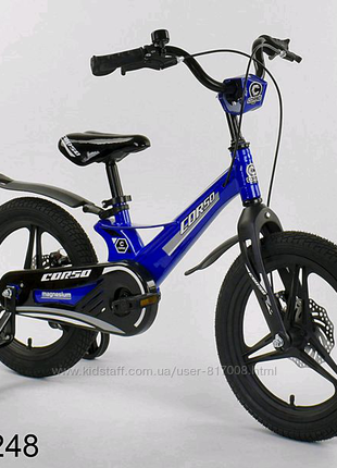 Corso Magnesium 16 дюйм велосипед детский двухколёсный магневый