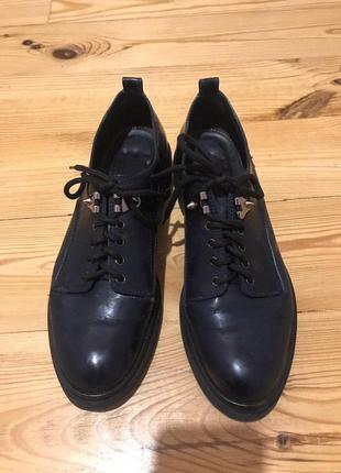 Стильные туфли дерби от sergio rossi