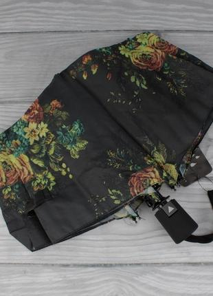 Стильный женский складной зонт полуавтомат silver rain 705-8, ...