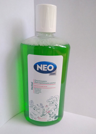 Ополаскиватель полости рта NEO Dent Herbal 700ml.