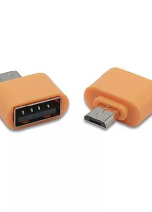 Micro USB OTG Адаптер, Переходник