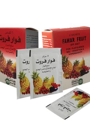 Фруктовая соль Fawar fruit для снятия недомоганий ЖКТ.