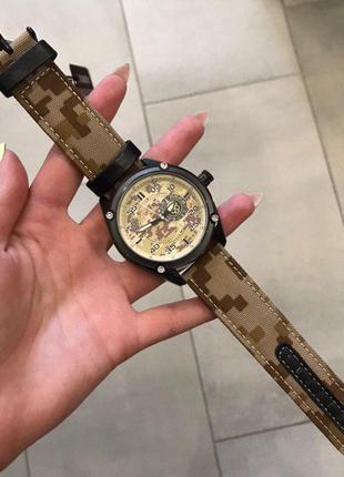 Оригинальные мужские наручные часы Curren Military 8183 Grey