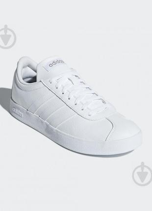 Кроссовки женские кожаные Адидас белые 40 р. Adidas
