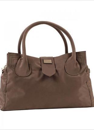 Дорожная, спортивная сумка - саквояж epol 23602 малая коричнев...