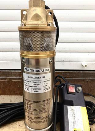 Насос для воды колодца скважины 4SKM-100