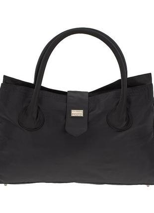 Дорожная, спортивная сумка - саквояж epol 23602 малая черная в...