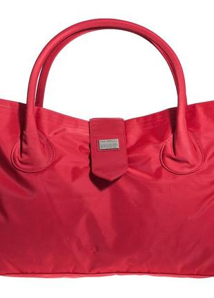 Дорожная сумка - саквояж epol 23601 большая красная