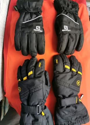 Рукавички Salomon перчатки рукавиці Killtec gore tex burton giro