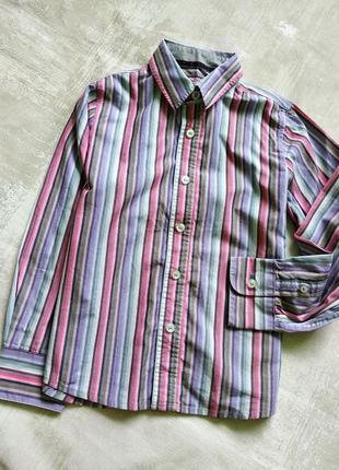 Рубашка мальчику next 7 лет