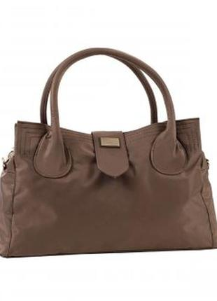 Дорожная, спортивная сумка - саквояж epol 23602 малая коричневая