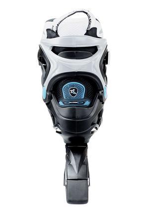 Роликовые коньки Nils Extreme черно-синие Size 40