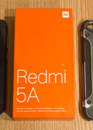 [СРОЧНО!!!] Xiaomi Redmi 5A 2/16 Dark Gray