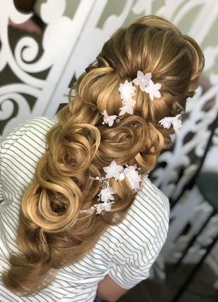 Шпилька в волосы шпилька в прическу шпилька для невесты шпильк...