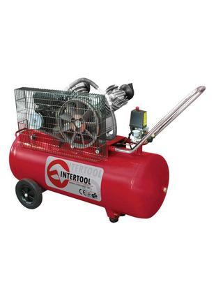 Компрессор Intertool - 100 л x 3 кВт.